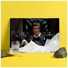 FREESHIP Mural Scarface Gangster Mafia Mob Lanscape Poster No Frame US Supplier