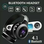 Bluetooth4.1 Wireless Stereo Headphones Foldable Headset Super Bass Earphones