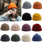 New Unisex Women Ladies Mens Knitted Knit Winter Warm Ski Crochet Slouch Hat Cap