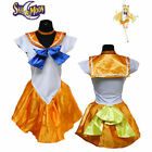 Sailor Moon Costume Serena Cosplay Anime Uniform Fancy Dress Up Outfit Gloves