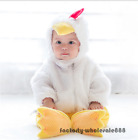 Baby Girls Boys Chicken Animal Halloween Fancy Dress Costume White Suit Outfit
