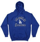 Zubaz MLB Men's Los Angeles Dodgers Arched Logo Fleece Pullover Hoodie on Ebay
