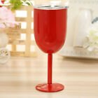 1pcs Stainless Steel Tumbler Drinking Mug Red Wine Glass Champagne Goblet Cup US