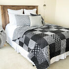 Your Lifestyle  Windsor Patch Microfiber Quilted Bedding Set image