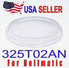 New Crystal Glass for Seiko 4006 Bell Matic 325T02AN with Low Domed Bevel Design image