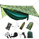 Camping Hammock Tent with Mosquito Net and Rain Fly for Outdoor Sleeping Gear
