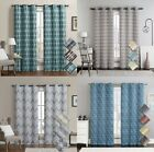 Kyпить Luxury Printed Grommet 100% Blackout Window Top Curtain Thermal Insulated (Pair) на еВаy.соm