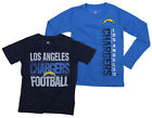 NFL Youth Los Angeles Chargers Fan Two Piece Performance T-Shirt Combo Set $29.99 USD on eBay