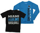Outerstuff MLB Youth Miami Marlins Fan Two Piece Performance T-Shirt Combo Set on Ebay