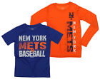 Outerstuff MLB Youth New York Mets Fan Two Piece Performance T-Shirt Combo Set on Ebay