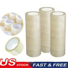 US 12/18 Rolls Carton Sealing Clear Packing Tape For Box Shipping Postal Acrylic