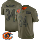 Men's Chicago Bears Walter Payton Camo Salute to Service 2019 Limited jersey 🔥? $64.99 USD on eBay