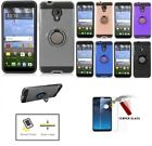 For Straight Talk Alcatel TCL LX/ Tracfone Alcatel TCL LX, Phone Case+Ring Stand
