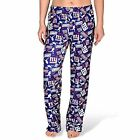 Forever Collectibles NFL Women's New York Giants Repeat Print Logo Comfy Pants $24.95 USD on eBay