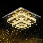 Crystal-LED-Ceiling-Light-Stainless-Steel-K9-Modern-Flush-Mount-Lights-Fixture