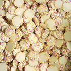 White Milk Chocolate Buttons Flavoured Candy Retro Sweets PICK 'n' MIX
