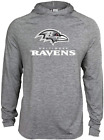 Zubaz NFL Football Men's Baltimore Ravens Tonal Gray Lightweight Hoodie $34.99 USD on eBay