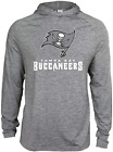 Zubaz NFL Football Men's Tampa Bay Buccaneers Tonal Gray Lightweight Hoodie $34.99 USD on eBay