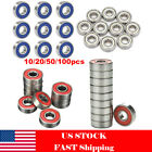 10/20/50/100pcs Roller Skate Skateboard Ball Wheel Bearing ABEC-5/7/9 608 RS 2RS $5.49 USD on eBay