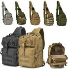 Tactical Backpack Military Shoulder Crossbody Bag Hiking Camping Travel Day Pack