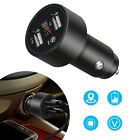 Car GPS Tracker Locator Real Time Tracking Dual USB Charger LED Voltmeter US