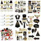 2020 Happy New Year's Eve Party Supplies Masks Photo Booth Props Decoration US