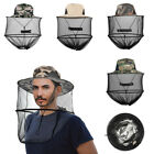 US Mens Women Mosquito Head Face Net Hat Mesh Protection Bug Bee Outdoor Sun Hat