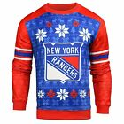 Forever Collectibles NHL Men's New York Rangers Printed Ugly Sweater $44.95 USD on eBay