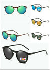 Polarised Fashion Fishing Golf Round UV Protection Vintage Sunglasses O001