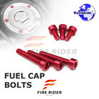 1 Set Fuel Gas Tank Cap Bolts For Triumph Tiger 1050 2006-17 Daytona 675 / R ABS $16.09 USD on eBay