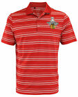 adidas NHL Mens Chicago Blackhawks Stanley Cup 2015 Champs Striped Polo, Red $16.99 USD on eBay