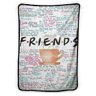 Friend TV Show The Tv Series Quotes Blanket ( KIDS / MEDIUM / LARGE ) image