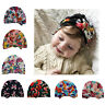 Baby Ear Hat New Cap Set Head Cute Floral Warm Soft Winter Children Kids Newborn