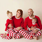 Family Matching Outfits Pajamas Set Christmas Fashion Cotton Nightwear Sleepwear