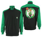 FISLL NBA Basketball Men's Boston Celtics Colorblock 3/4 Zip Pullover Sweatshirt on eBay