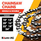 """BAUMR-AG Chainsaw Chain Chains Replacement 10"""" 12"""" 16"""" 18"""" 20"""" 22"""" 24"""" Spare"""