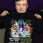 Star Wars 43 years of 1977-2020 cast signature gift fan movie shirt size S-5XL $18.98 USD on eBay