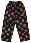 Outerstuff NFL Football Youth Boys Cincinnati Bengals All Over Print Fleece Pant $14.99 USD on eBay
