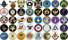 AUTO EMBLEMS Masonic OES Shriner Scottish Rite Elk Knights - CHOOSE YOUR EMBLEM