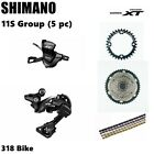 Shimano Deore XT M8000 11S Drivetrain groupset MTB 11speed group 46/50/52T