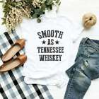 Smooth as tennessee whiskey shirt country music shirt funny gifts for sayings ts
