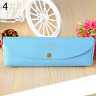 AB_ KF_ Candy Color School Pencil Case for Girls Boys Pencilcase Penal Pen Bag F