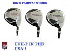 AGXGOLF BOYS XS 5+7+9 WOODS HEAD COVERS: GRAPHITE SHAFT, AVAILABLE IN ALL SIZES