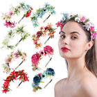 Wedding Bridal Garland Fashion Flower Headband Hairbands Girls Hair Accessories
