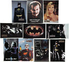 Vintage 1989 Original Batman Movie Poster Collection 23x34 Your Choice of 10