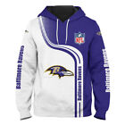 2020 Baltimore Ravens Hoodie Casual Sweatshirt Pullover Hooded  Gift For Fans $28.99 USD on eBay