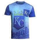 KLEW 2016 MLB Men's Kansas City Royals Cotton Poly Pocket Logo Tee T-shirt on Ebay