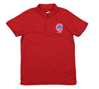 Outerstuff MLB Youth Chicago Cubs Performance Polo, Red on Ebay