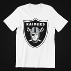 Oakland Raiders Logo White T-shirt $13.99 USD on eBay