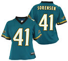 Reebok NFL Women's Jacksonville Jaguars Nick Sorensen #41 Player Jersey, Teal $19.95 USD on eBay